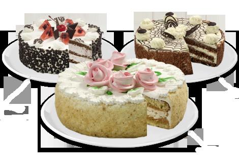 Стандартные торты