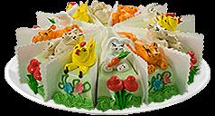 Порционные торты